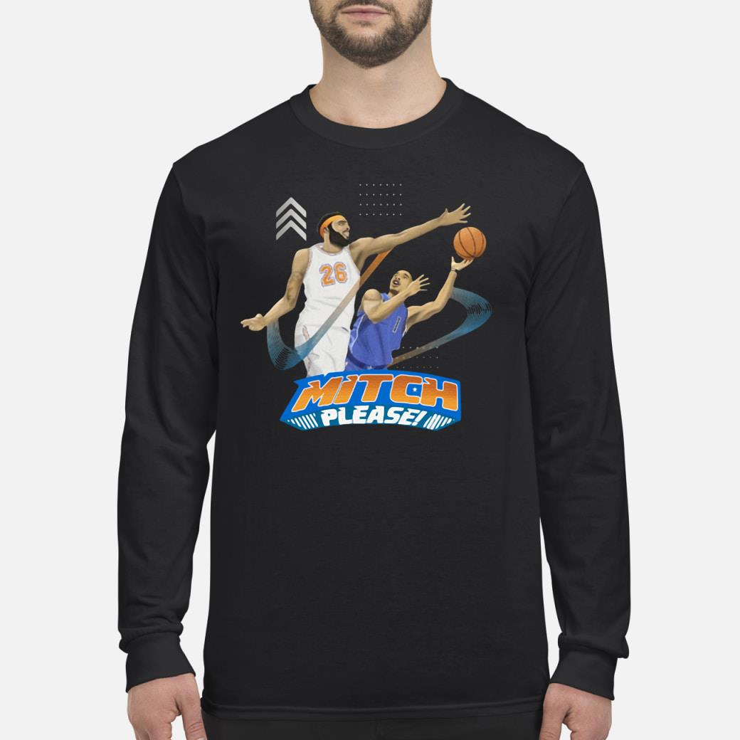 Mitch Please Mitchell Robinson Shirt Long sleeved