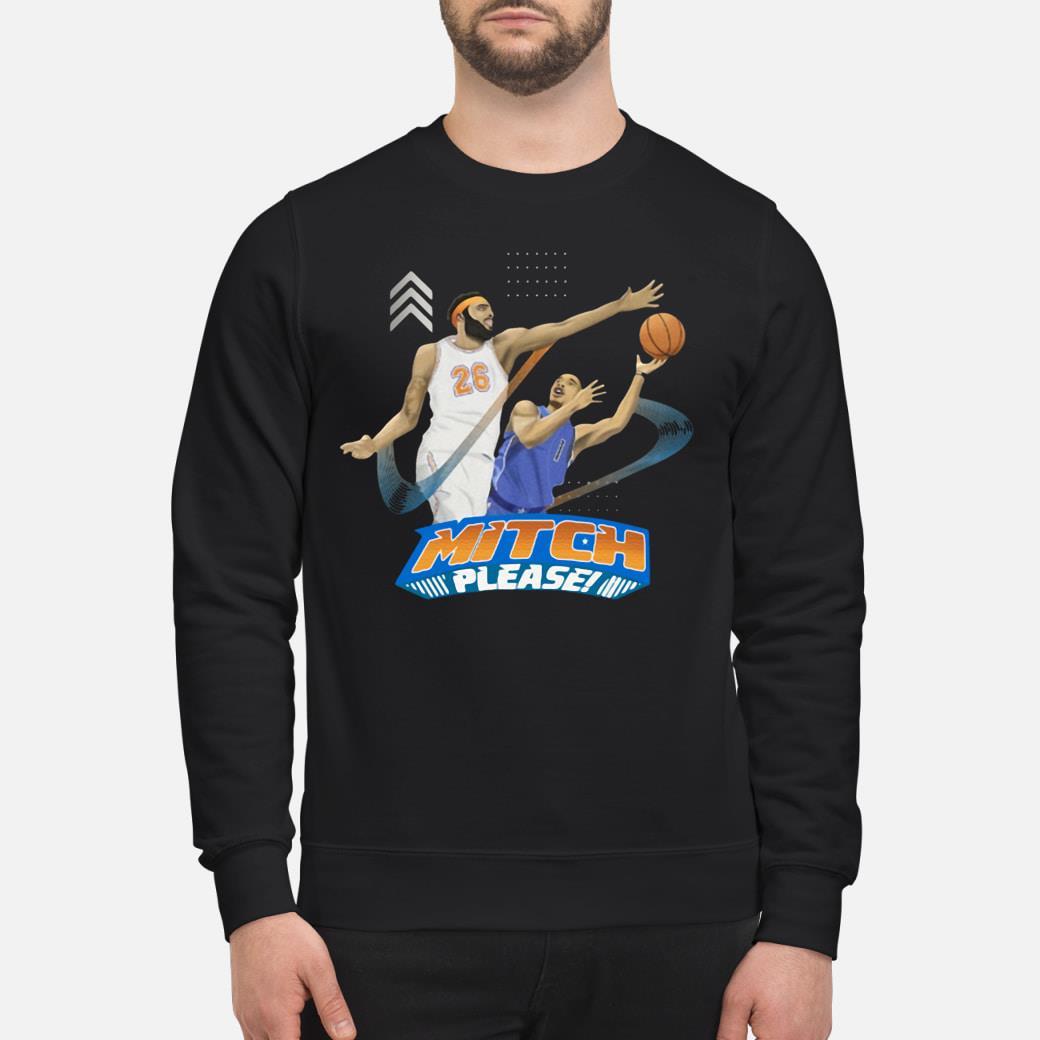 Mitch Please Mitchell Robinson Shirt sweater