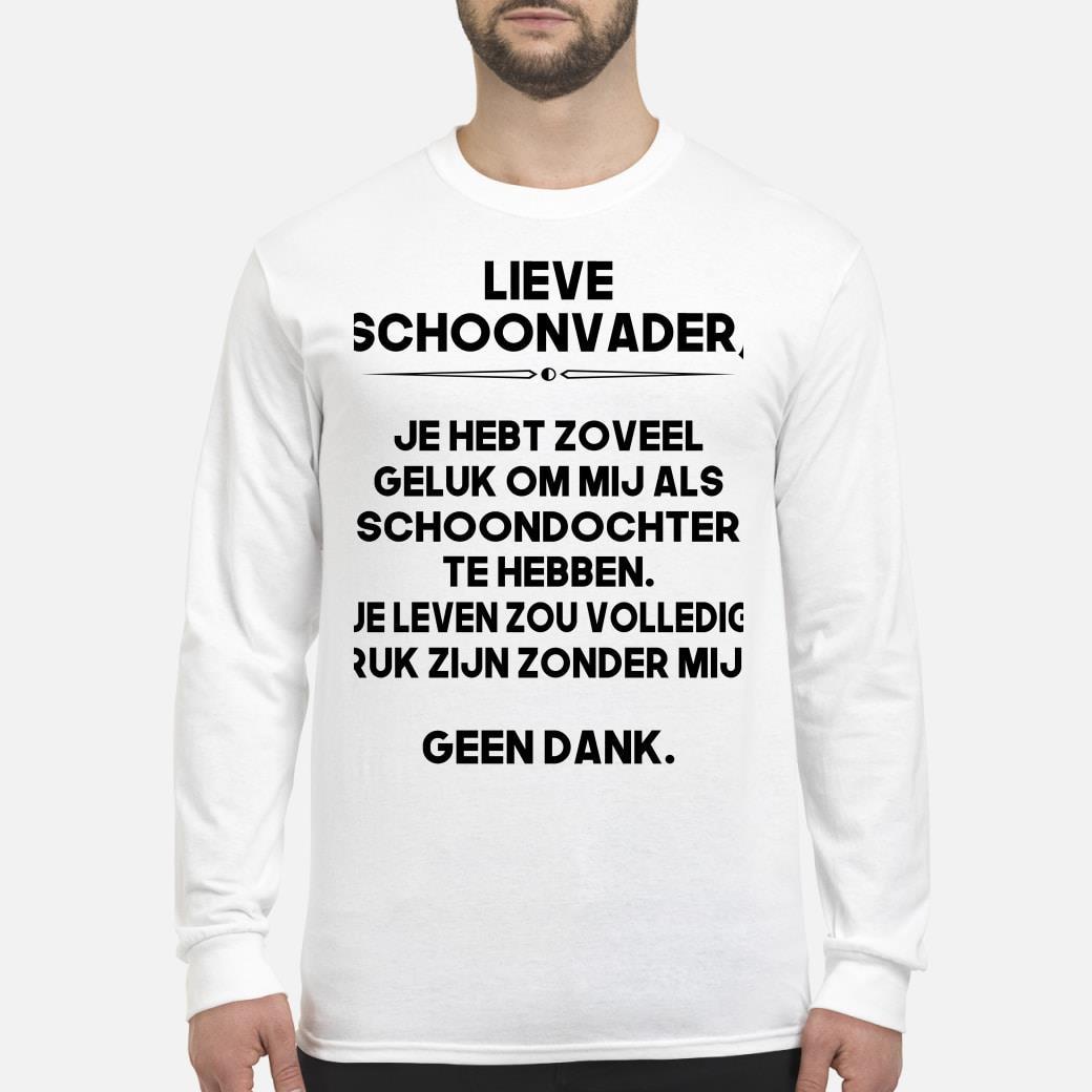 NE - Lieve schoonvader shirt Long sleeved