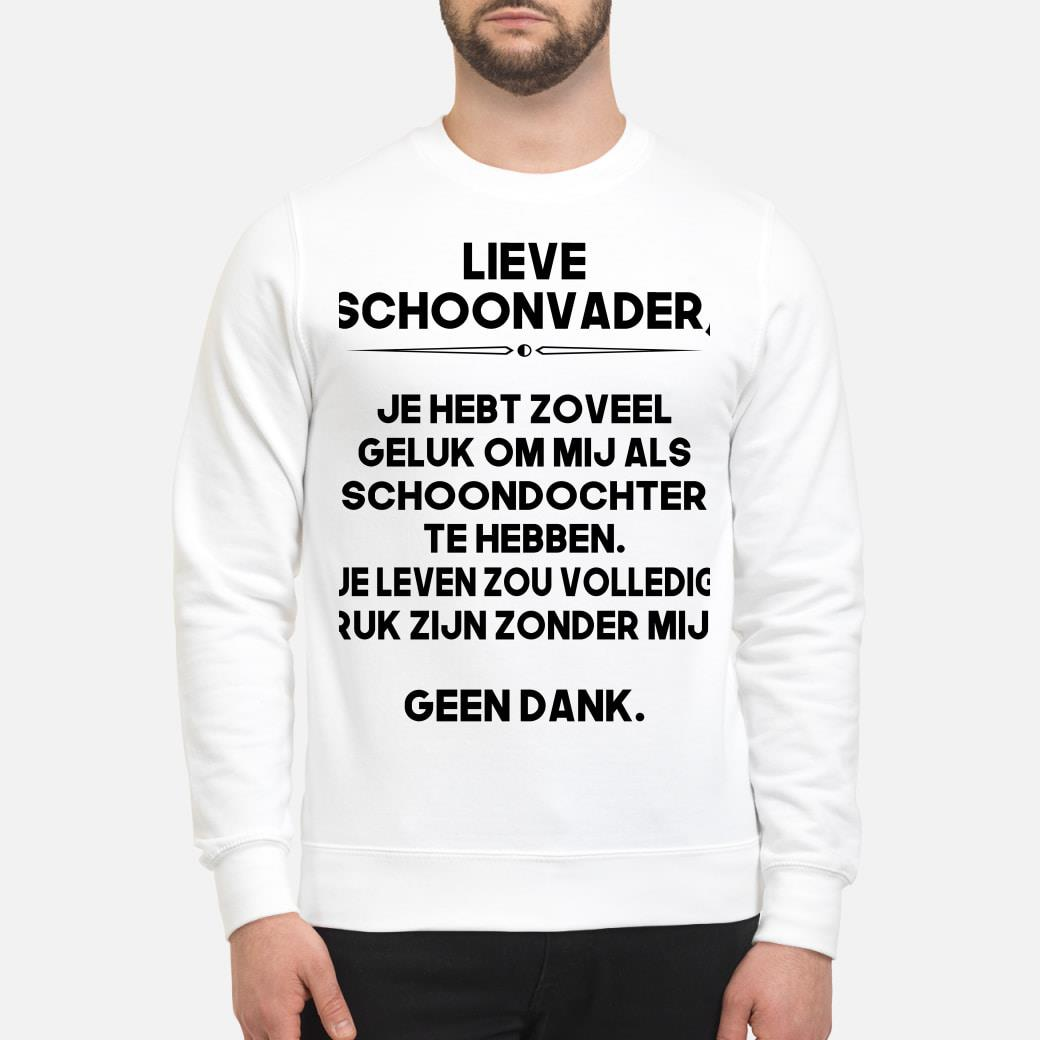 NE - Lieve schoonvader shirt sweater