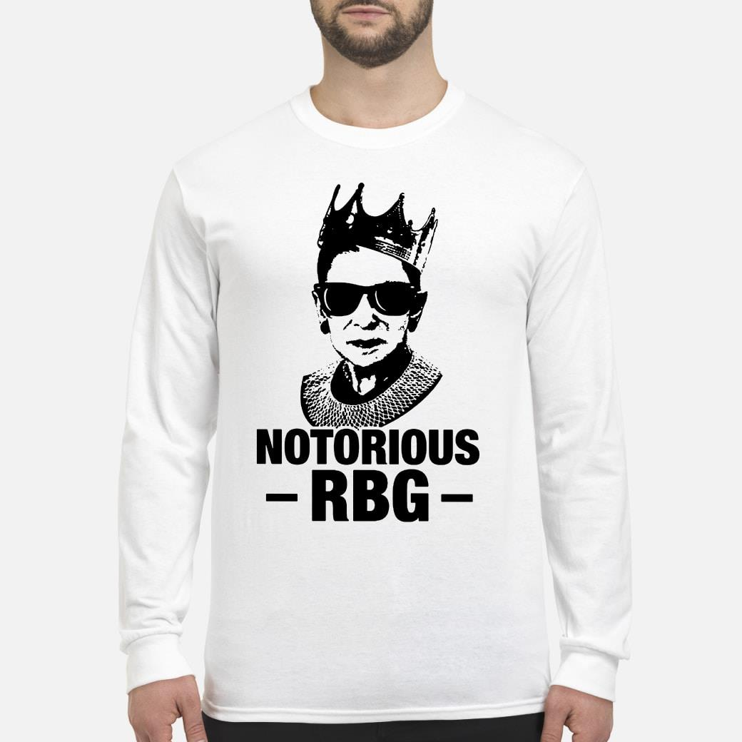Notorious RBG Ruth Bader Ginsburg shirt Long sleeved