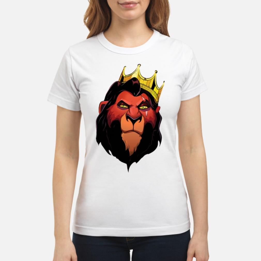 Notorious Scar The Lion King shirt ladies tee