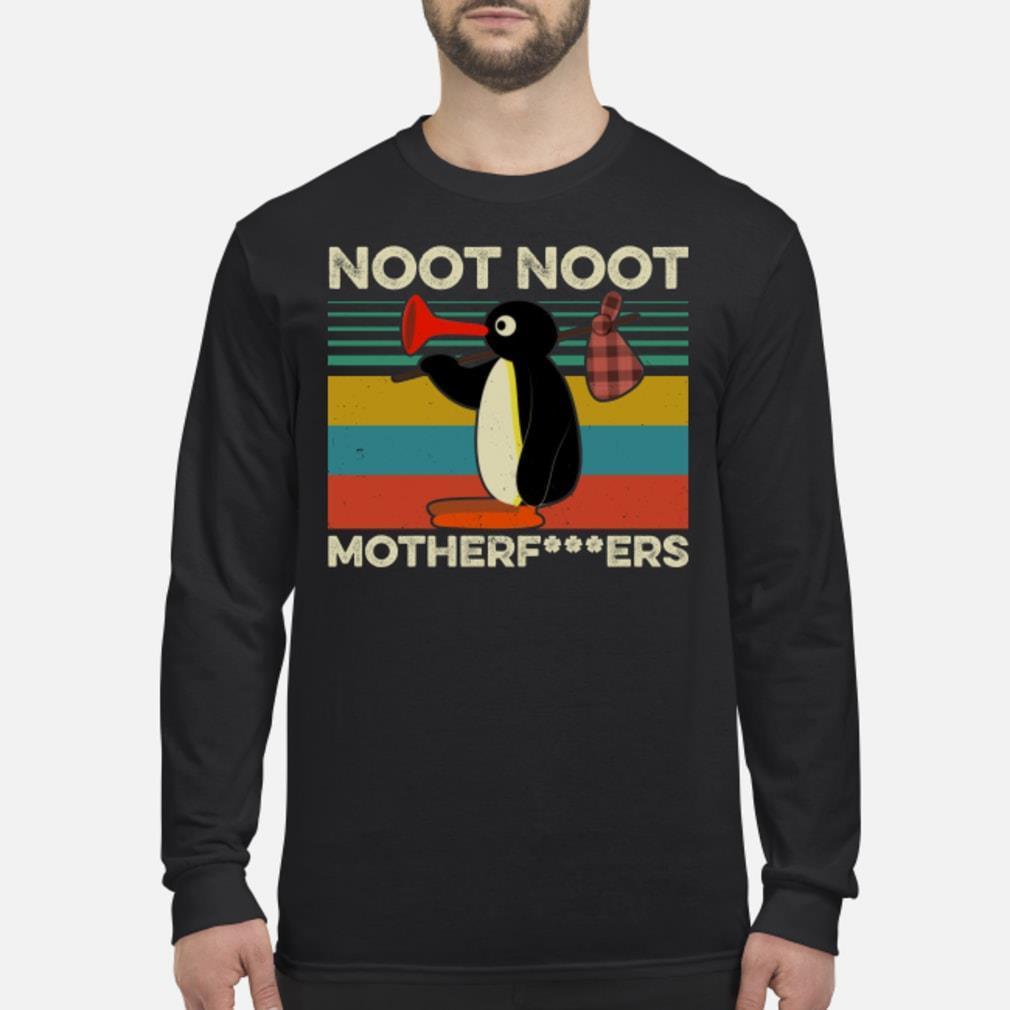 Pingu Noot Noot vintage shirt Long sleeved