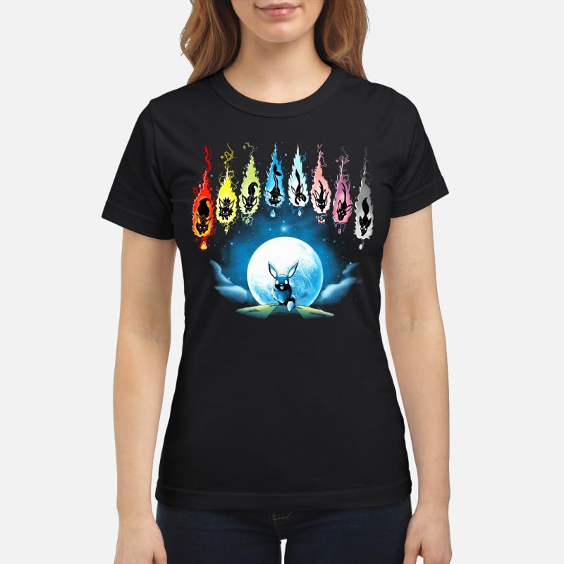 Pokemon Eevee Evolution shirt [copy] ladies tee
