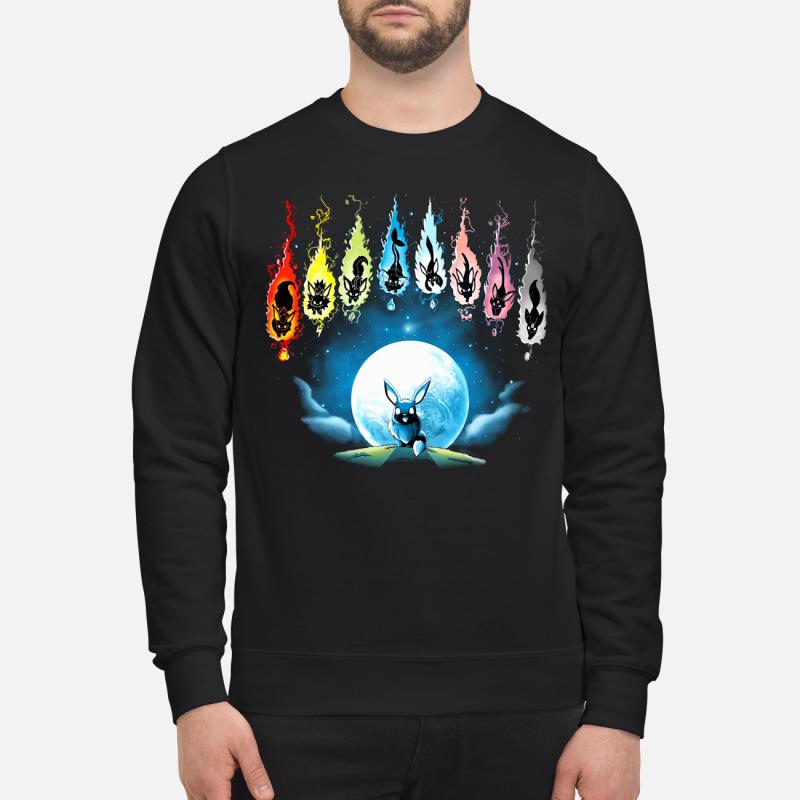 Pokemon Eevee Evolution shirt [copy] sweater