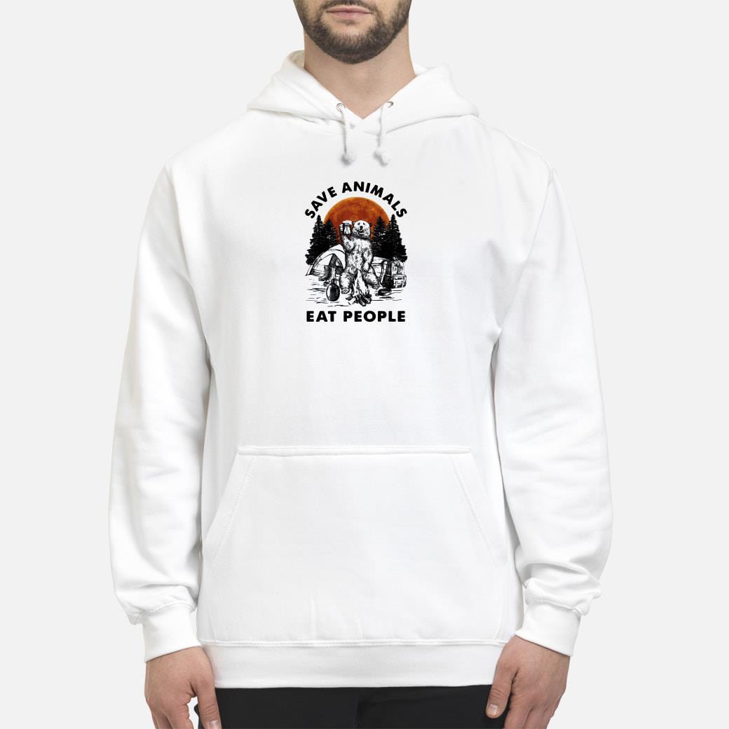 Save animals eat people shirt hoodie