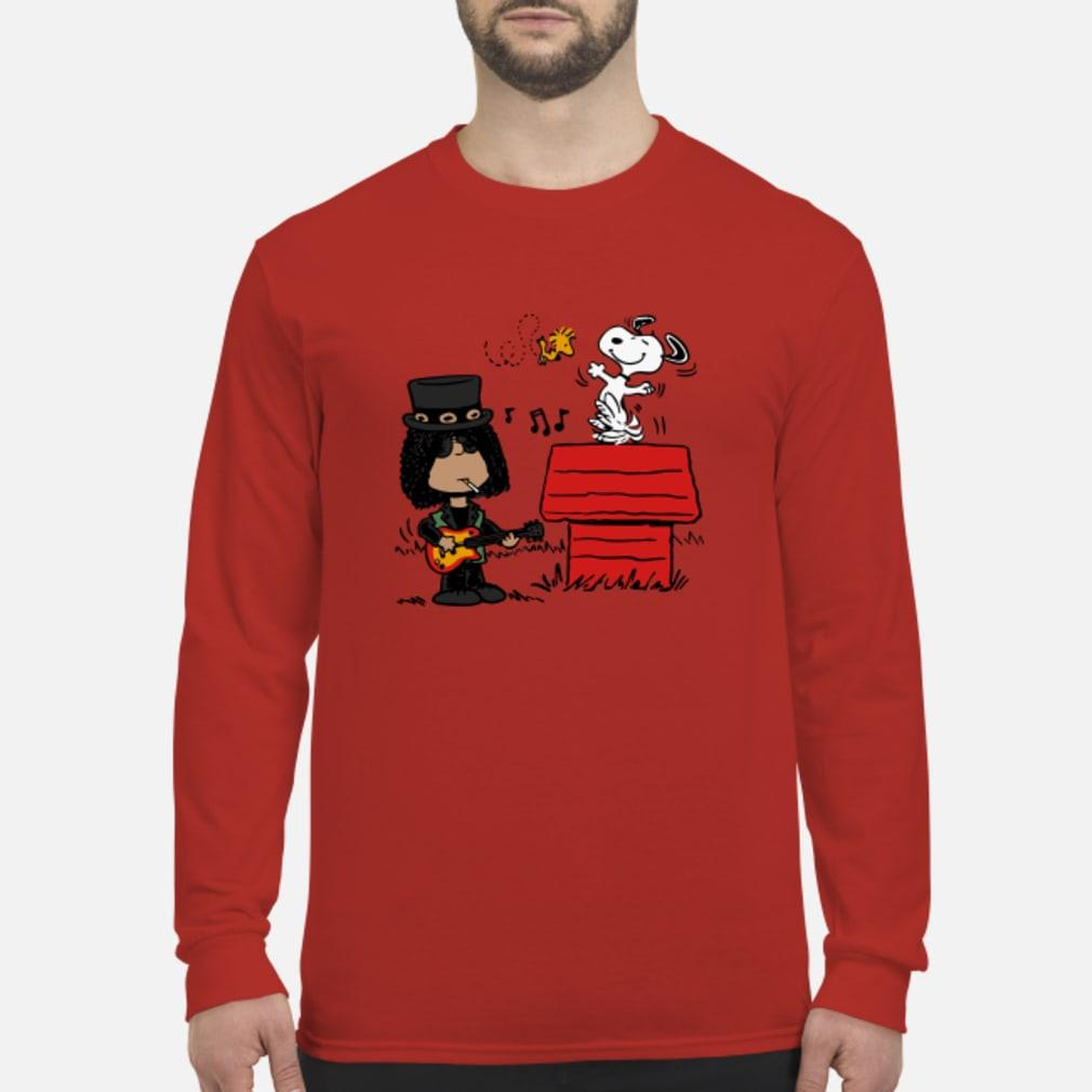 Slash and Snoopy shirt Long sleeved