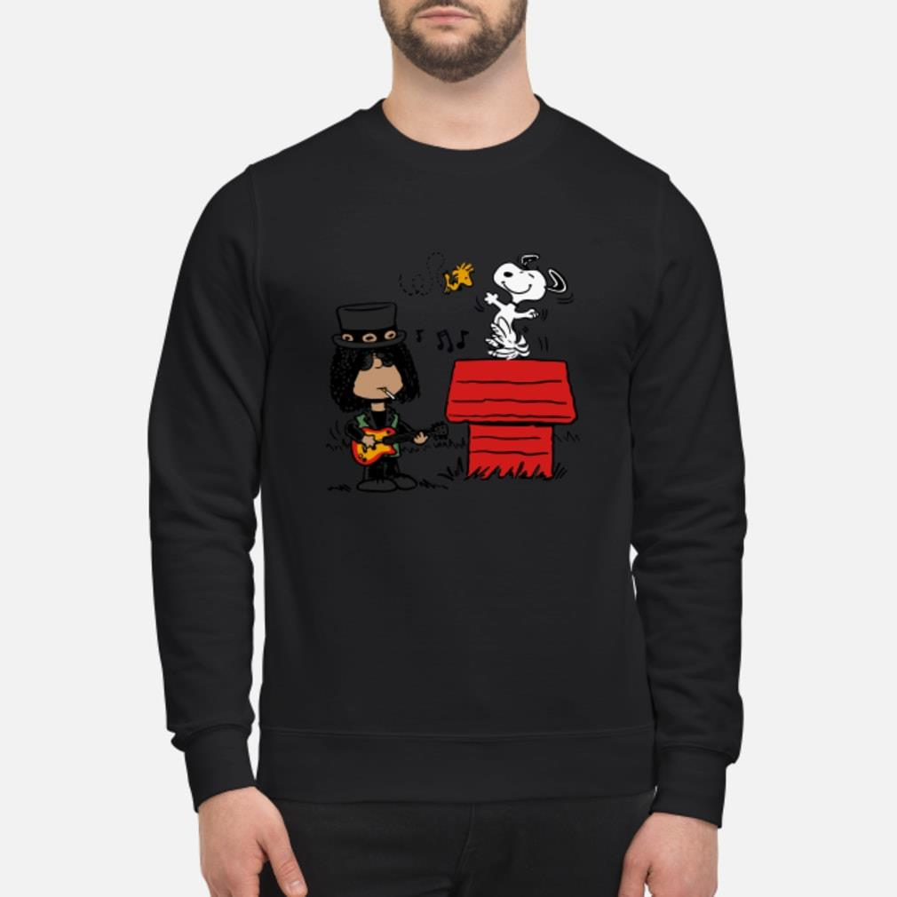 Slash and Snoopy shirt sweater