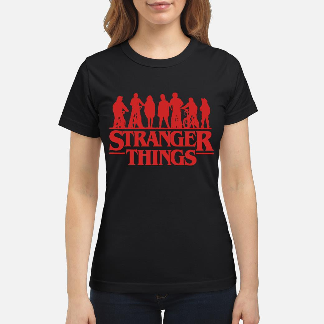 Stranger things season 3 shirt ladies tee