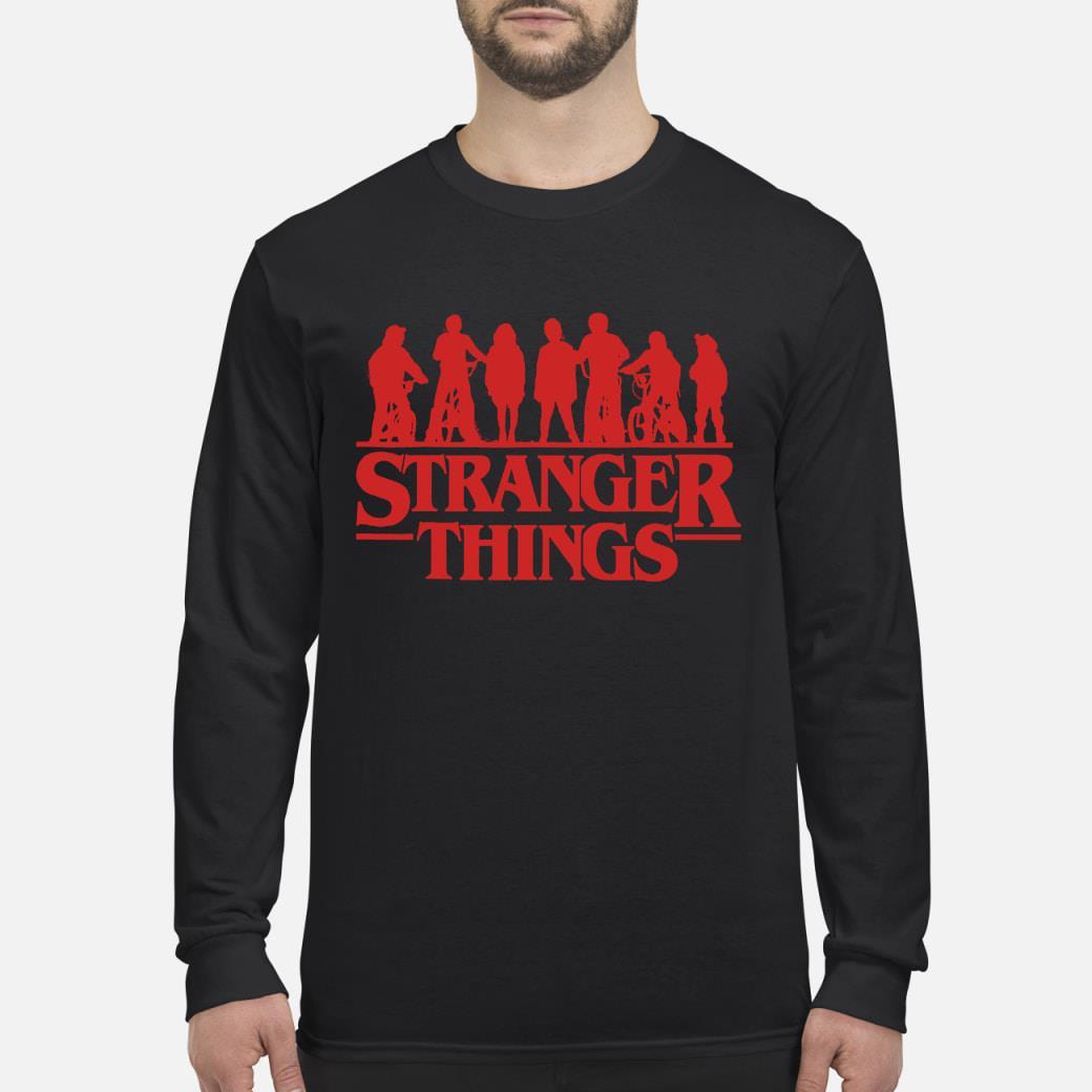Stranger things season 3 shirt long sleeved