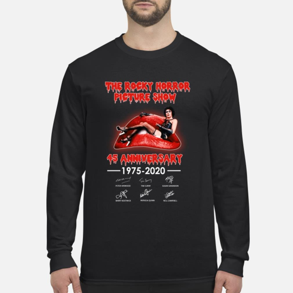 The Rocky Horror Picture Show 45th Anniversary Shirt Long sleeved