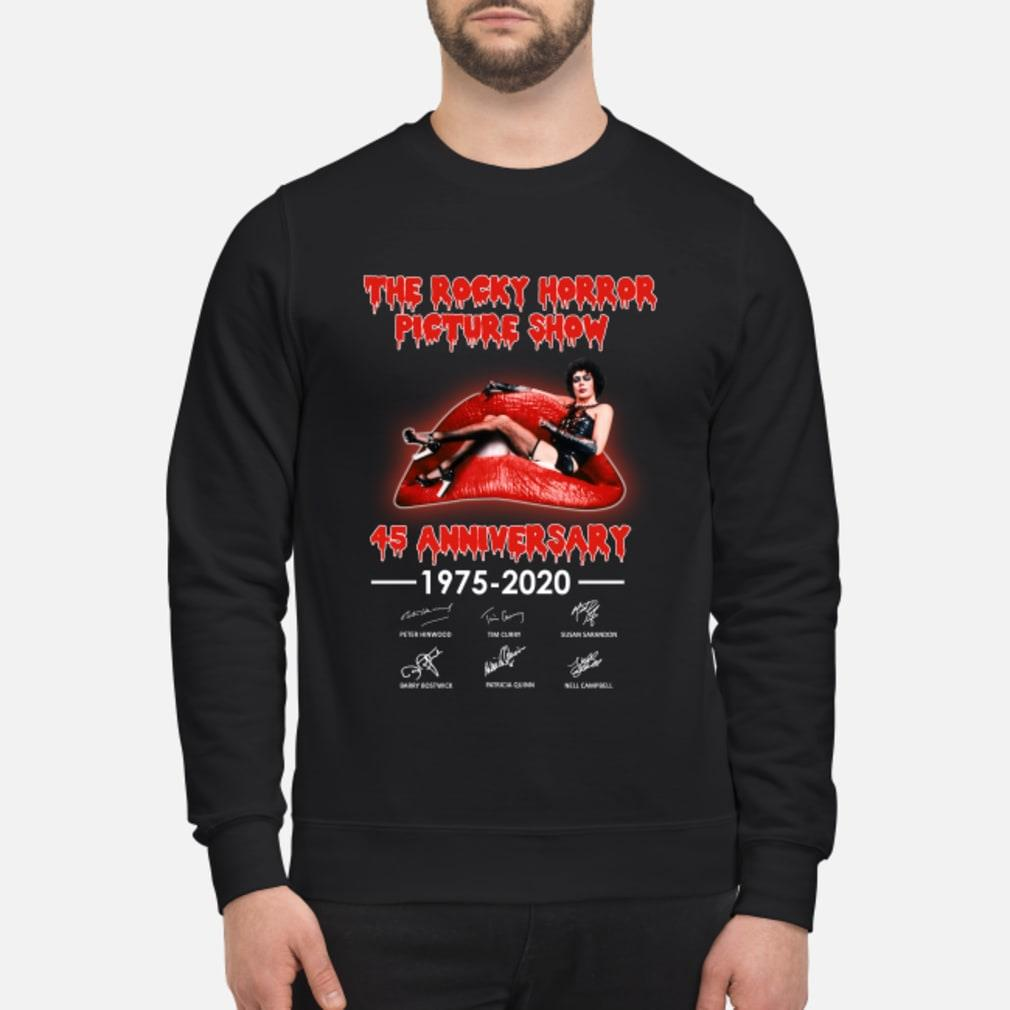The Rocky Horror Picture Show 45th Anniversary Shirt sweater