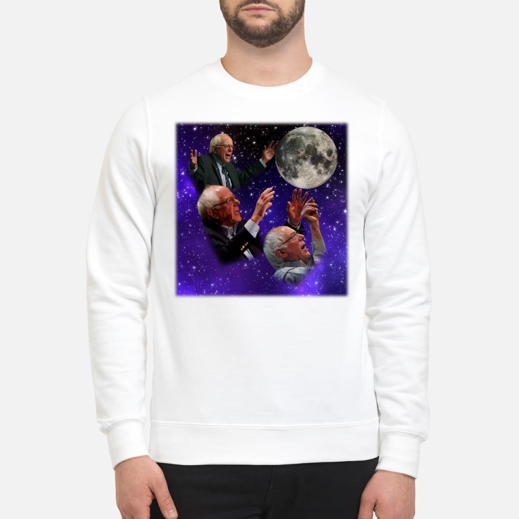 Three bernie sanders moon shirt sweater
