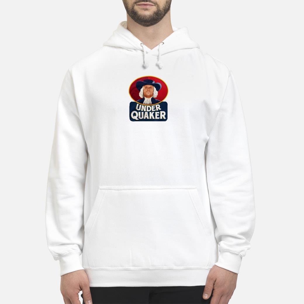 Under Quaker Shirt hoodie