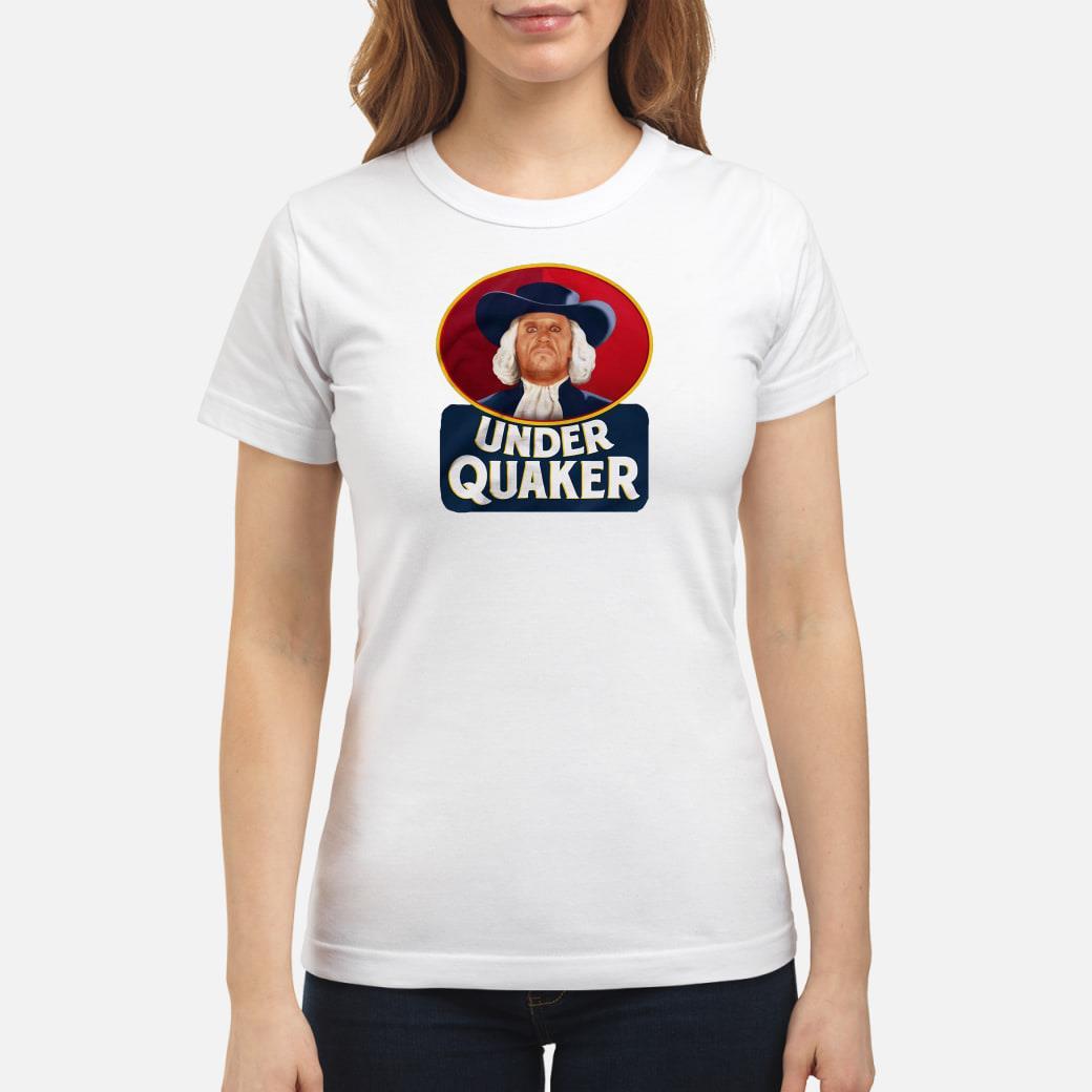 Under Quaker Shirt ladies tee