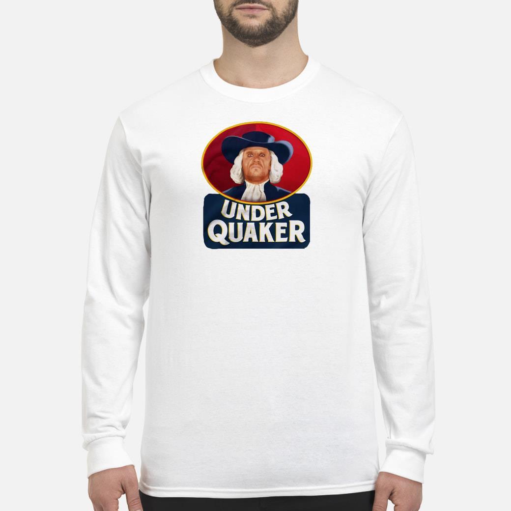 Under Quaker Shirt Long sleeved