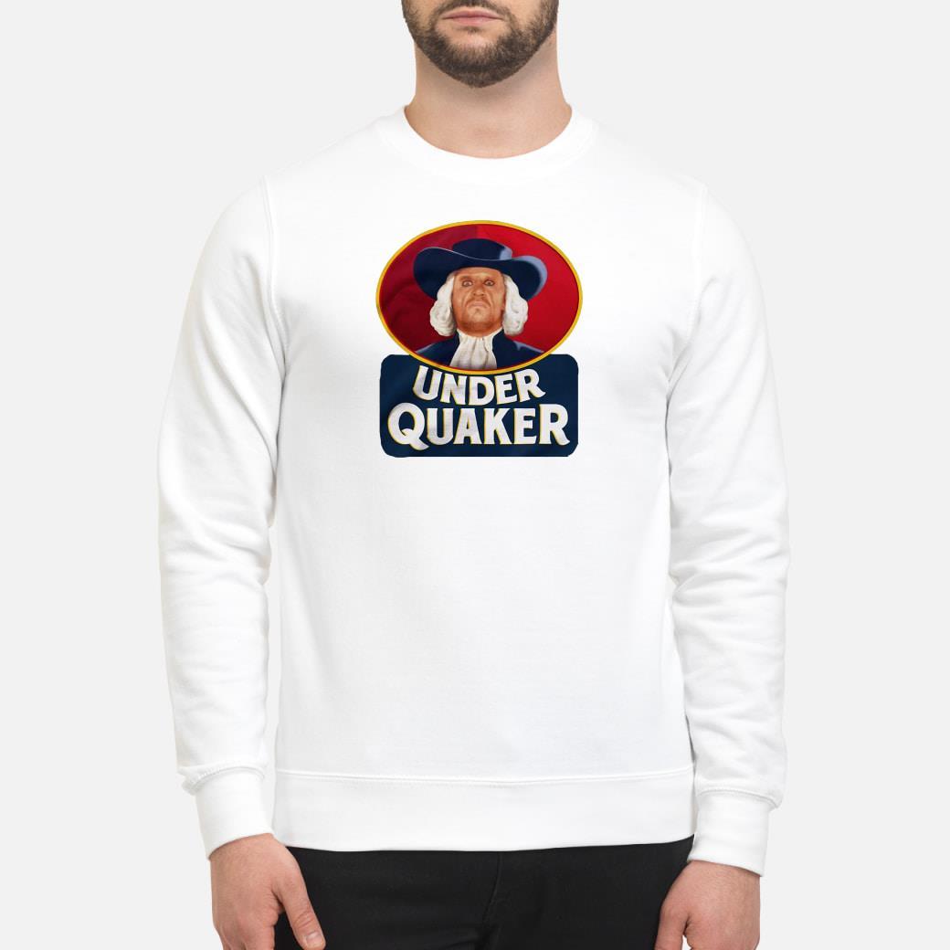Under Quaker Shirt sweater