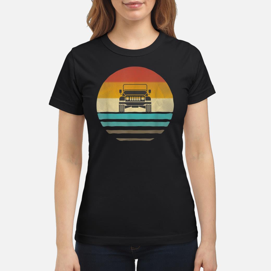 Vintage Jeeps shirt ladies tee