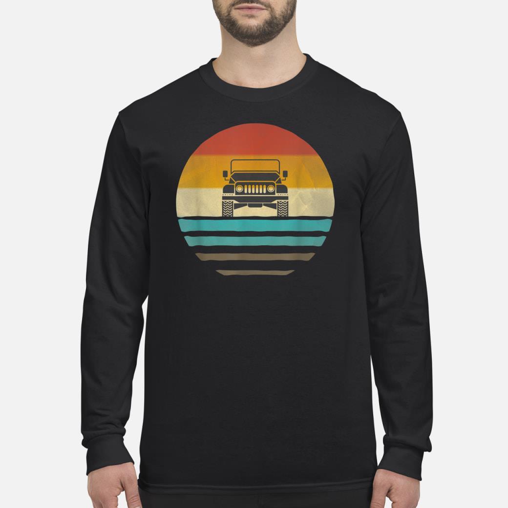 Vintage Jeeps shirt Long sleeved