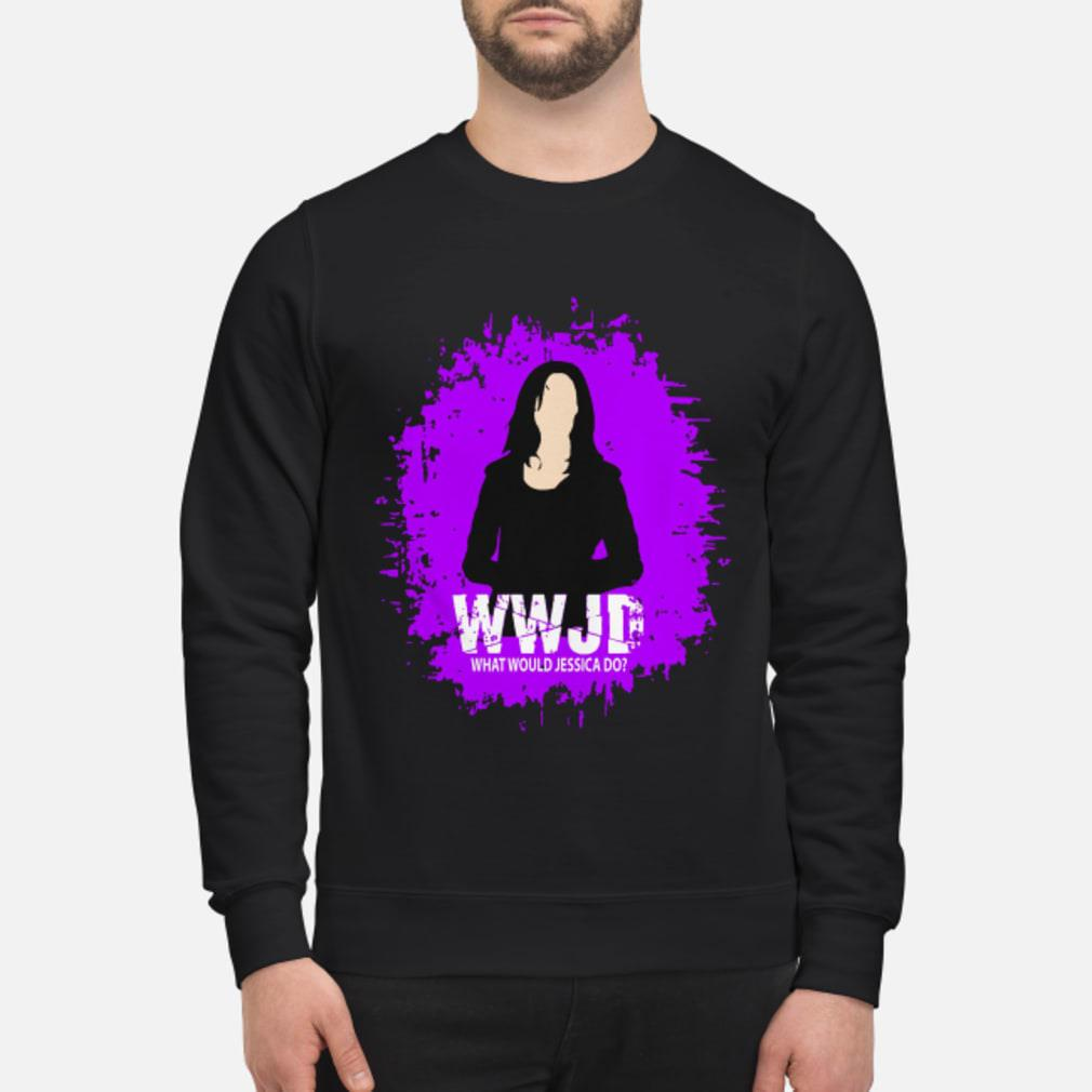 WWJD What Would Jessica Do Shirt sweater