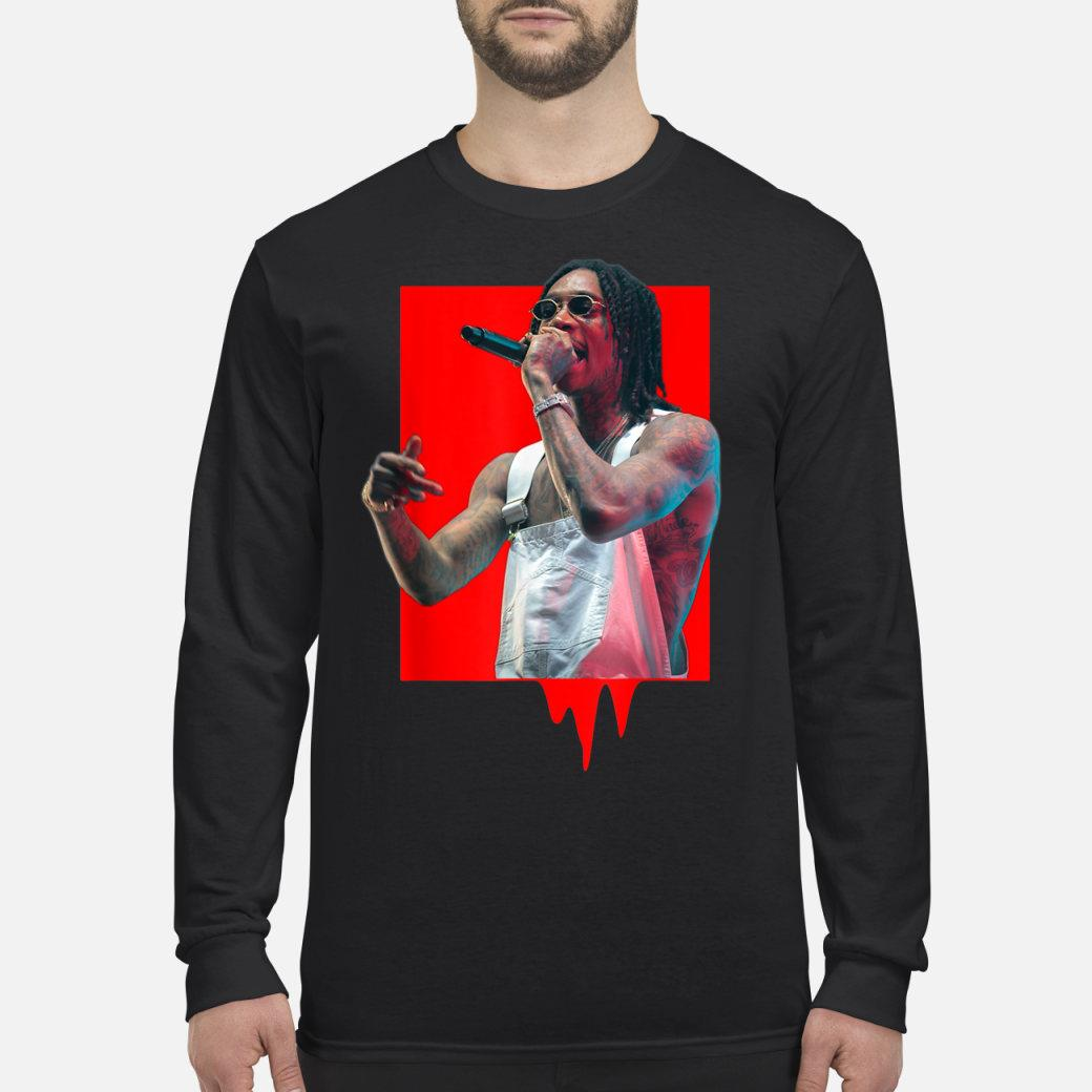 Wiz Khalifa Rapper shirt Long sleeved