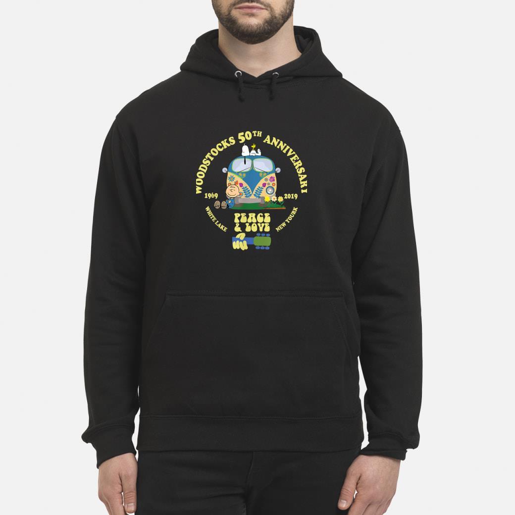 Woodstocks 50th Anniversary Peace Love shirt hoodie