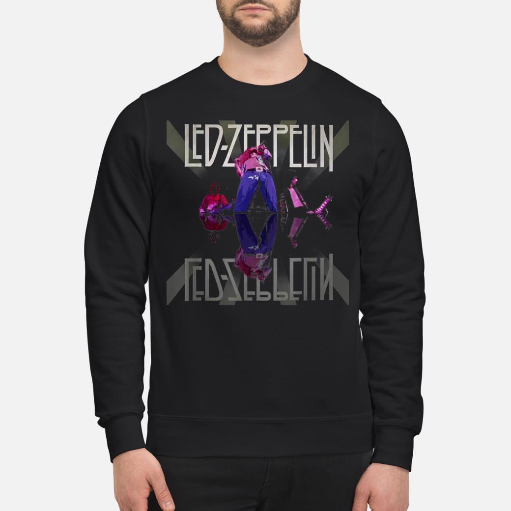 Zeppelin shirt sweater