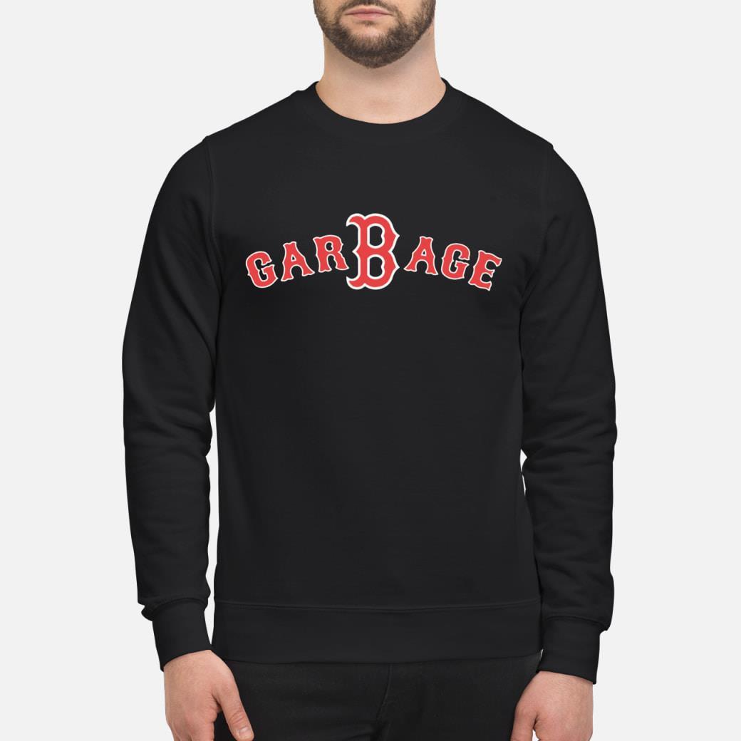 Boston Baseball Fan Garbage shirt sweater