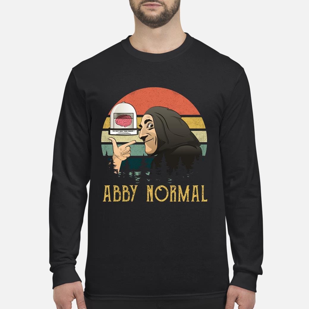 Brain Abby Normal Vintage shirt Long sleeved