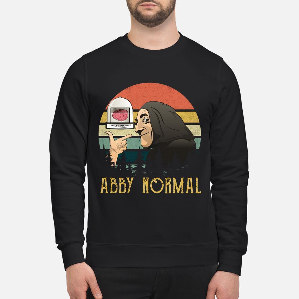 Brain Abby Normal Vintage shirt sweater