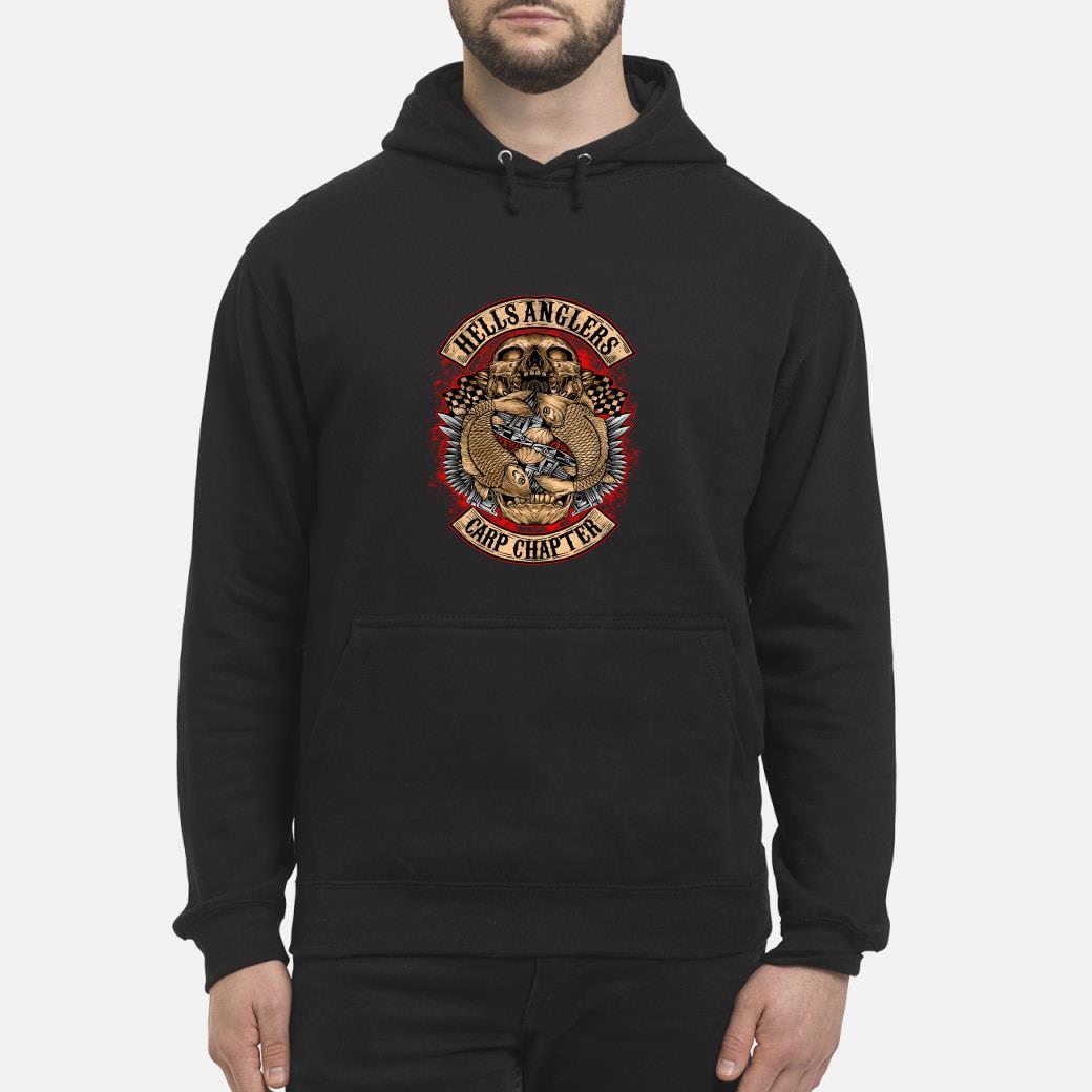 Hells Anglers Carp Chapter shirt hoodie