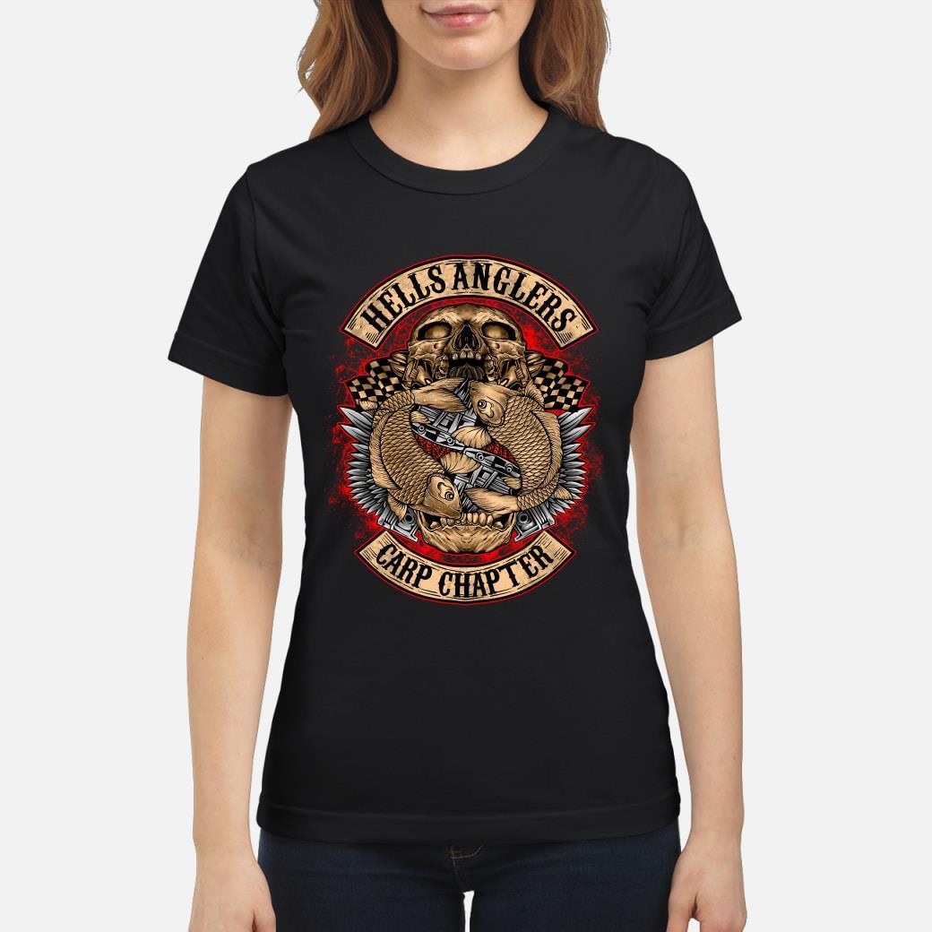 Hells Anglers Carp Chapter shirt ladies tee