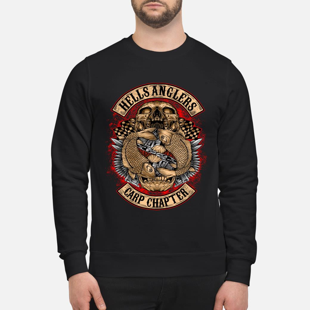 Hells Anglers Carp Chapter shirt sweater