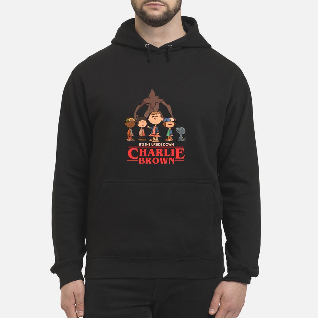 It's The Upside Down Charlie Brown Stranger Things Shirt hoodie