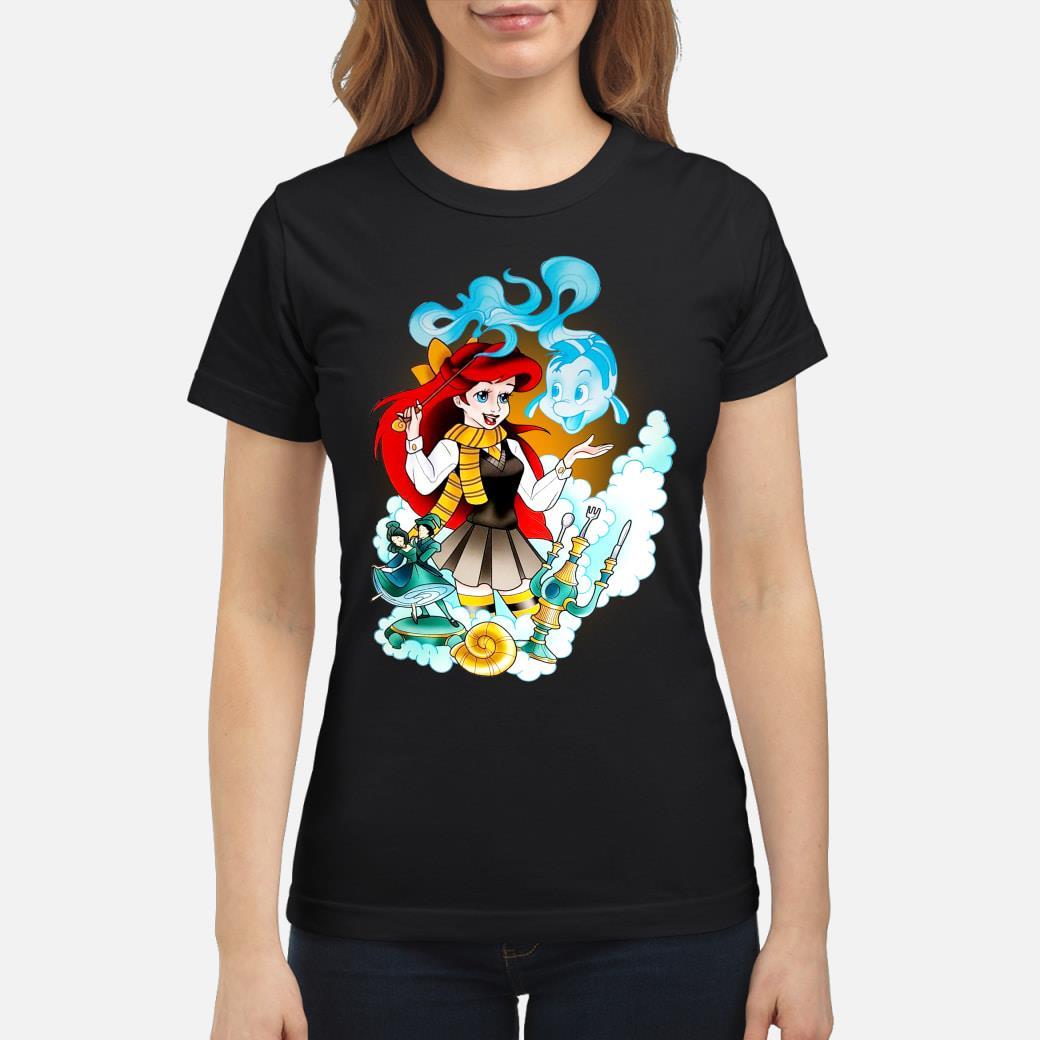Mermaid Ariel disney shirt ladies tee