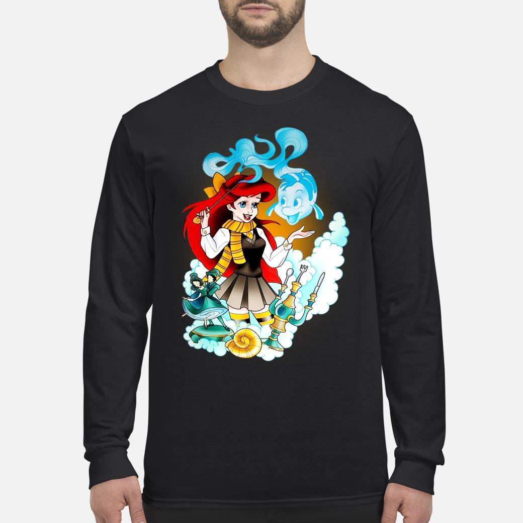 Mermaid Ariel disney shirt Long sleeved