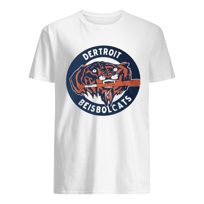 DERTROIT BEISBOLCATS OFFICIAL  Classic Men's T-shirt