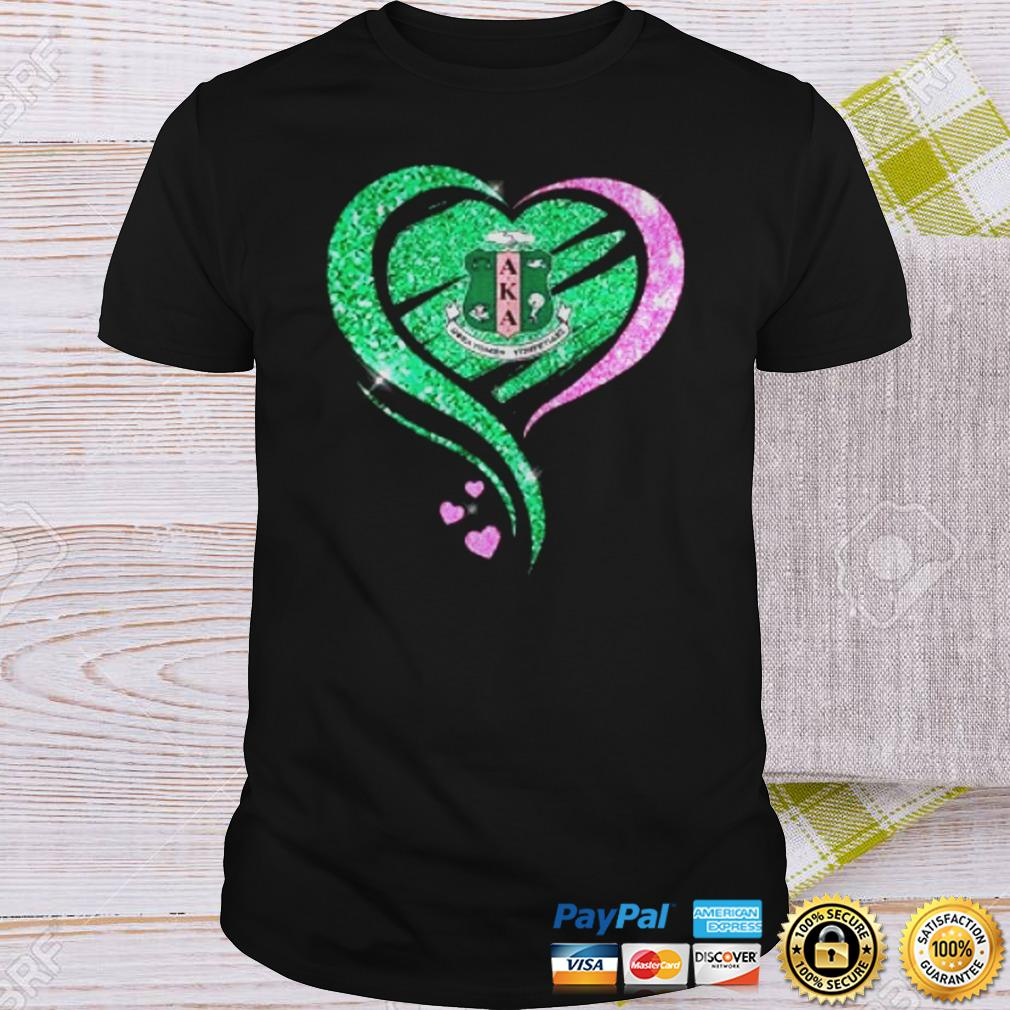 Alpha Kappa Alpha Heart Diamond shirt Shirt