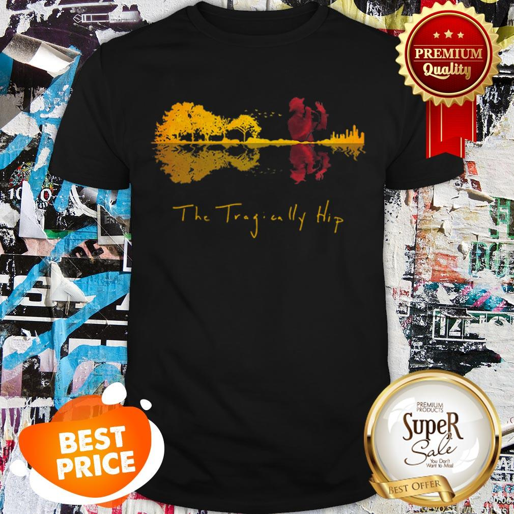 The Tragically Hip Guitar Lake Water Mirror Reflection Shirt