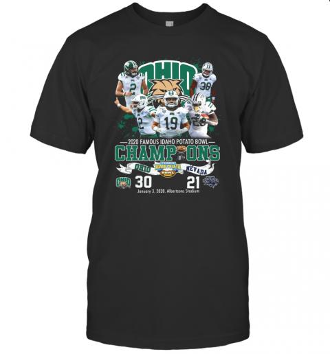 2020 Famous Idaho Potato Bowl Champions Ohio Vs Nevada T-Shirt Classic Men's T-shirt