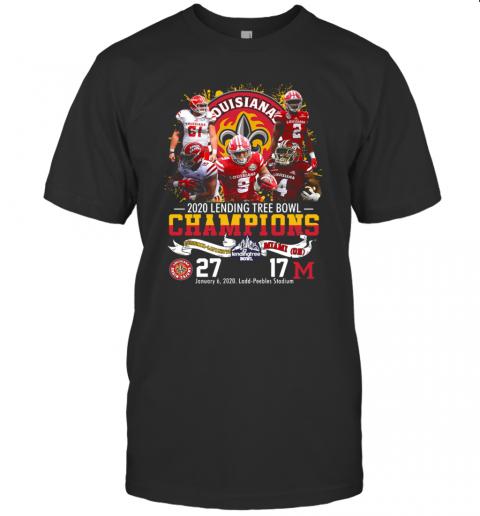 2020 Lendingtree Bowl Champions Louisiana Lafayette Vs Miami T-Shirt Classic Men's T-shirt