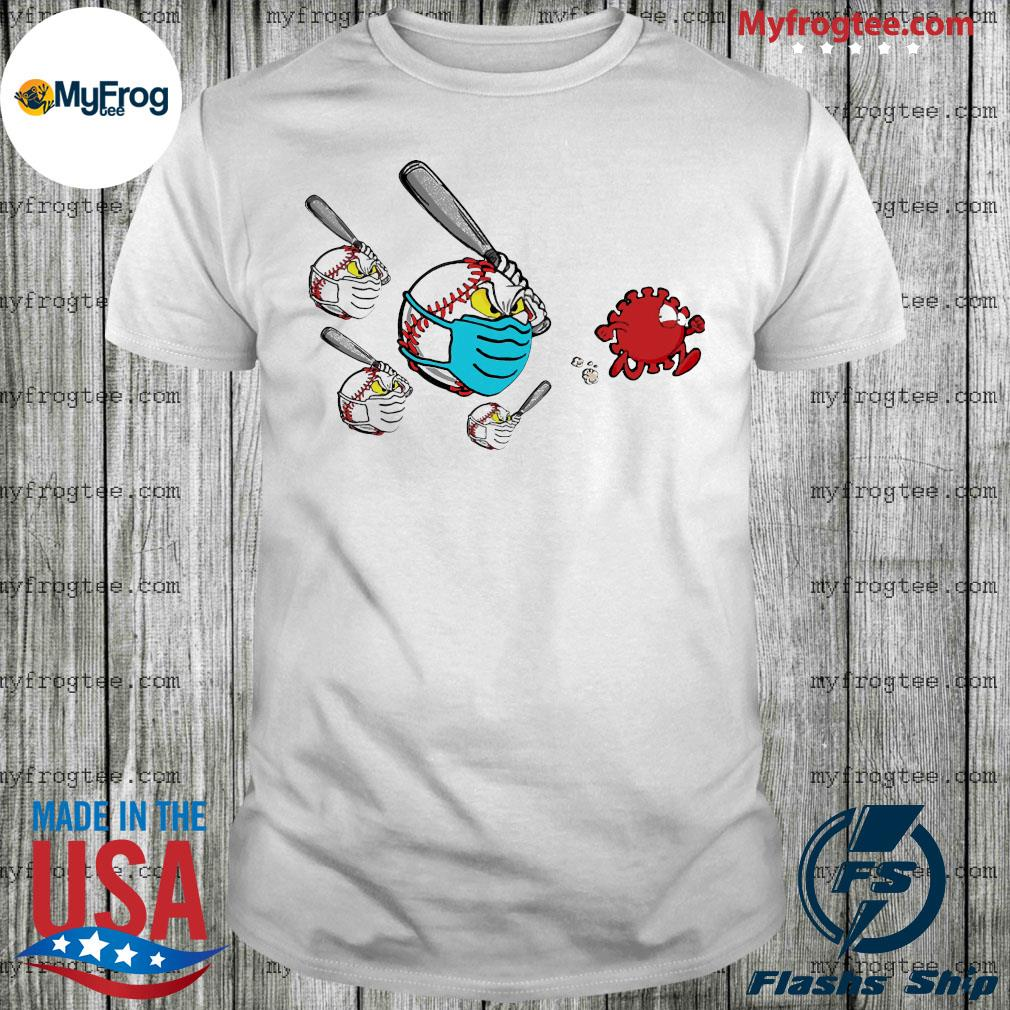 Baseball Chase Fight Coronavirus Shirt