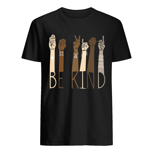 Be Kind Sign Language  Classic Men's T-shirt