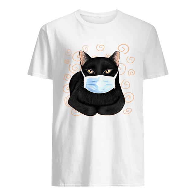 Black Cat Masked  Classic Men's T-shirt