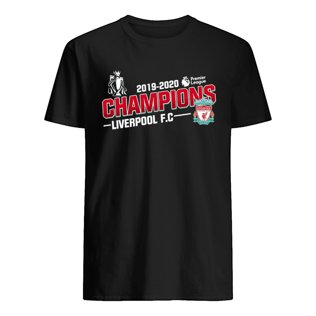 Champions liverpool fc 2019-2020 premier league  Classic Men's T-shirt