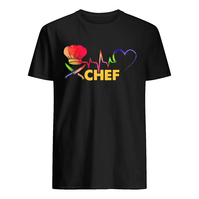 Chef heartbeat  Classic Men's T-shirt