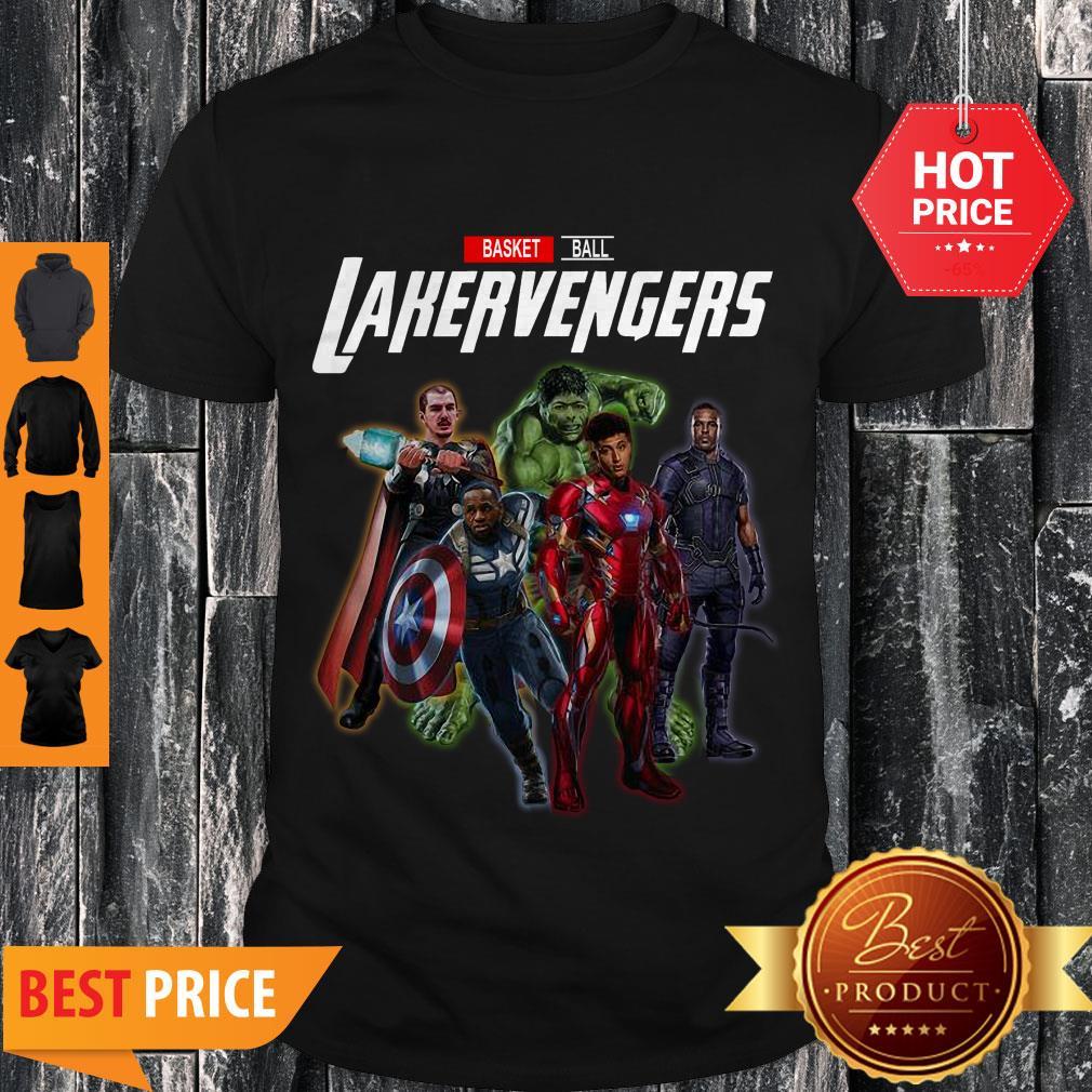Cute Marvel Avengers Basketball Lakervengers Shirt