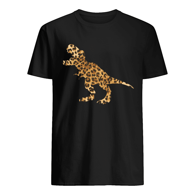 Dinosaur T-rex Leopard  Classic Men's T-shirt