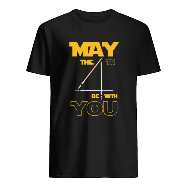 May The 4th Be With You Star Wars May The 4th Be With You  Classic Men's T-shirt