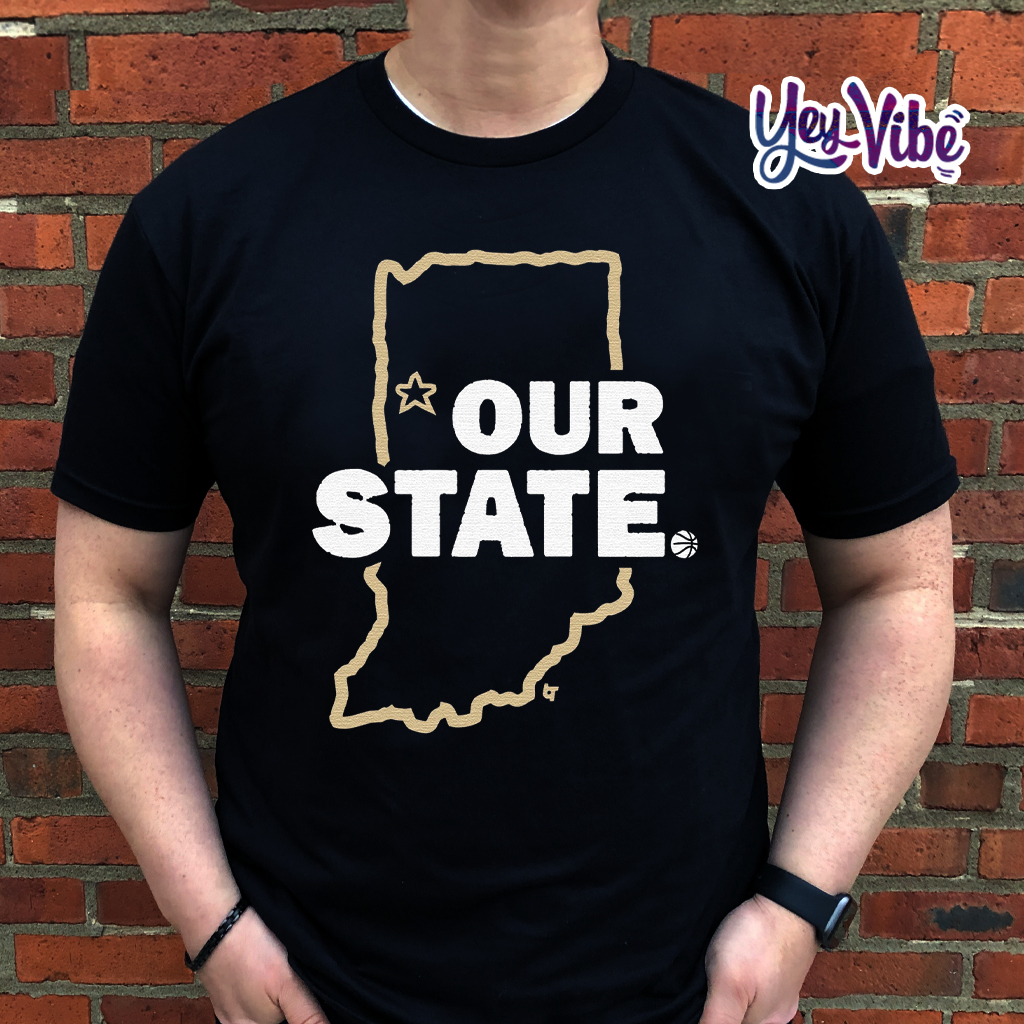 Our State T Shirt West Lafayette, Indiana Hoops